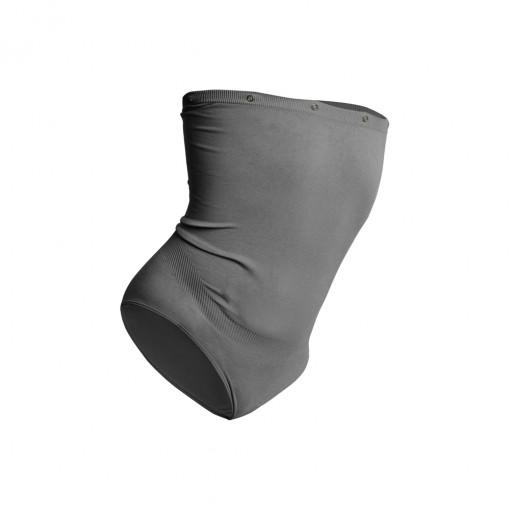 Culotte grise pour femmes enceintes par Moodkit, vêtements de grossesse.